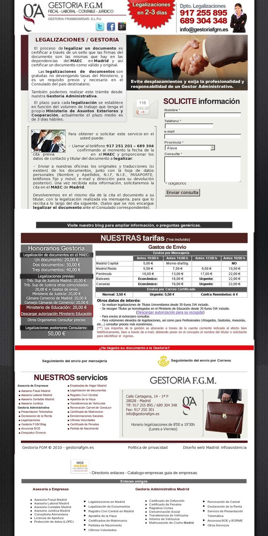 Legalizar un documento es certificar a través de un sello que las firmas del documento son las mismas que hay en las dependencias del MAEC en Madrid y así certificar un documento como válido y original >> Gestoria / Legalizaciones en Madrid --> www.legalizaciones.org