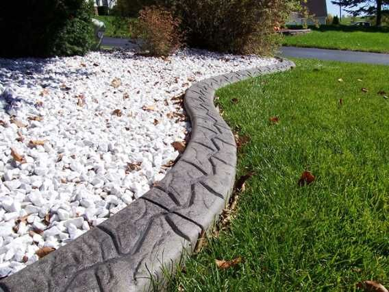 17 best ideas about lawn edging stones on pinterest for Decorative stone garden border