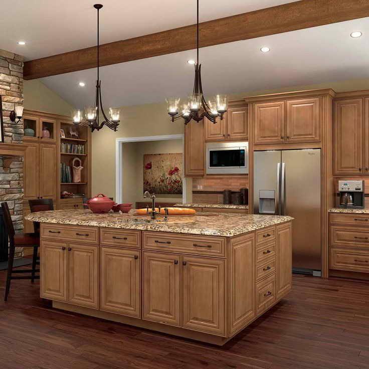 Kitchen Designs With Maple Cabinets | Kitchen cabinet ... on Maple Cabinet Kitchen Ideas  id=81036
