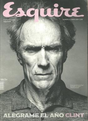 Portada de la edición de la revista Squire donde fue publicada la producción fotográfica