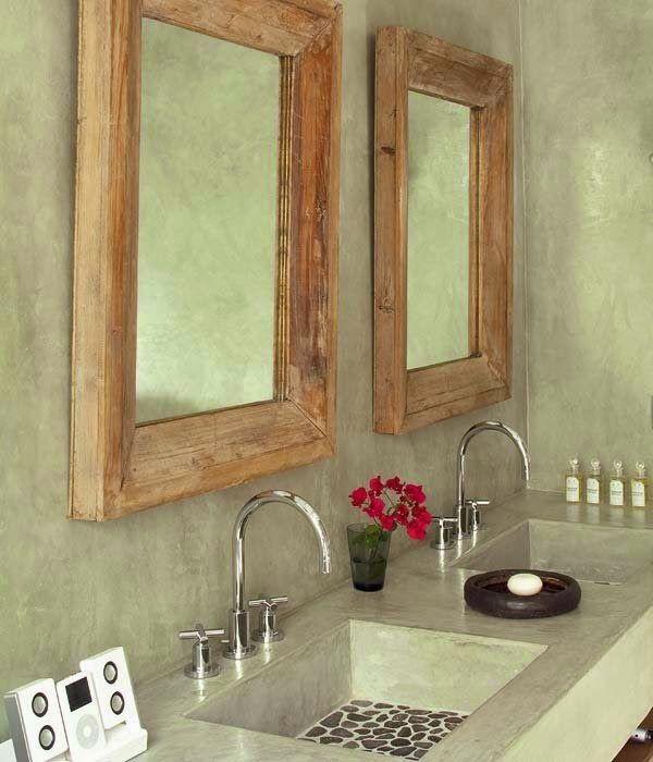 Atendendo pedido, ideias de espelhos para um banheiro reformado.