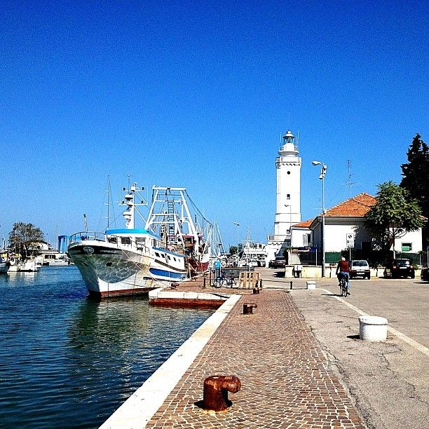 Rimini, canal port - Instagram by @fabio33