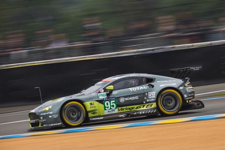 Viper Motorsports — Aston Martin Racing laying down laps on the... Aston Martin Racing laying down laps on the Circuit de la Sarthe with their new N° 95 Aston Martin Vantage GT3 model during testing for the 2016 24 Heures du Mans.