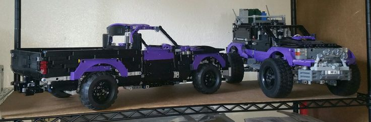MY LATEST MOC BUILD WHICH IS OF A Z71 CHEVY SINGLE CAB SHORT BED 2WD PICKUP,STILL HAVE TO FINISH BUILDING TOP OF CAB.CHASIS OF THIS MODEL CAME FROM CROWKILLERS 2014 AMERICAN MUSCLE CAR.LENGHT IS ABOUT THE SAME AS 42056 LEGO TECHNIC PORSCHE 911 GT3 RS MODEL IN SIZE.