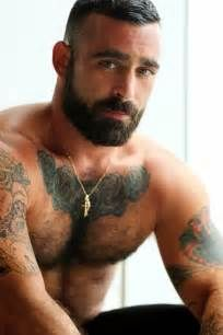 Hairy Muscle Men With Beards - Sex Porn Images