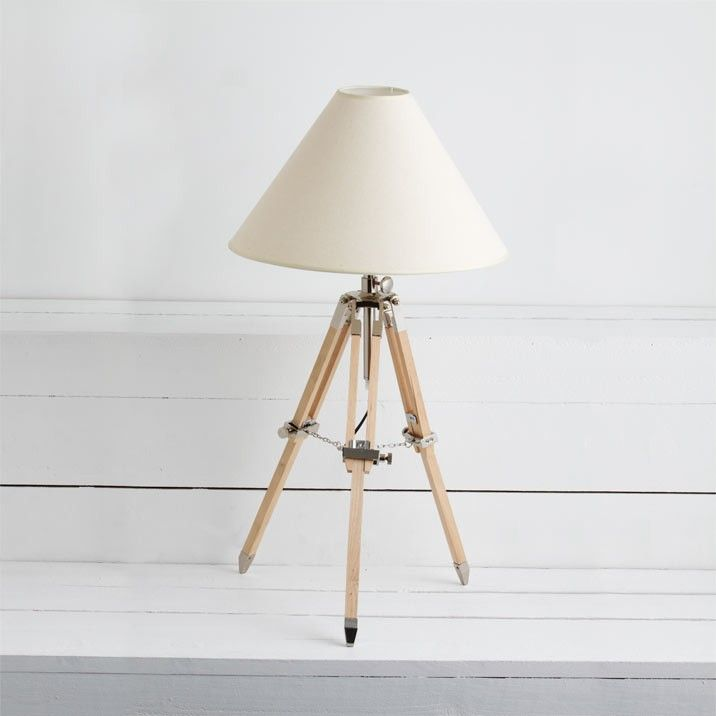 Tripod Shade Table Lamp - Table Lamps - Lighting - Living