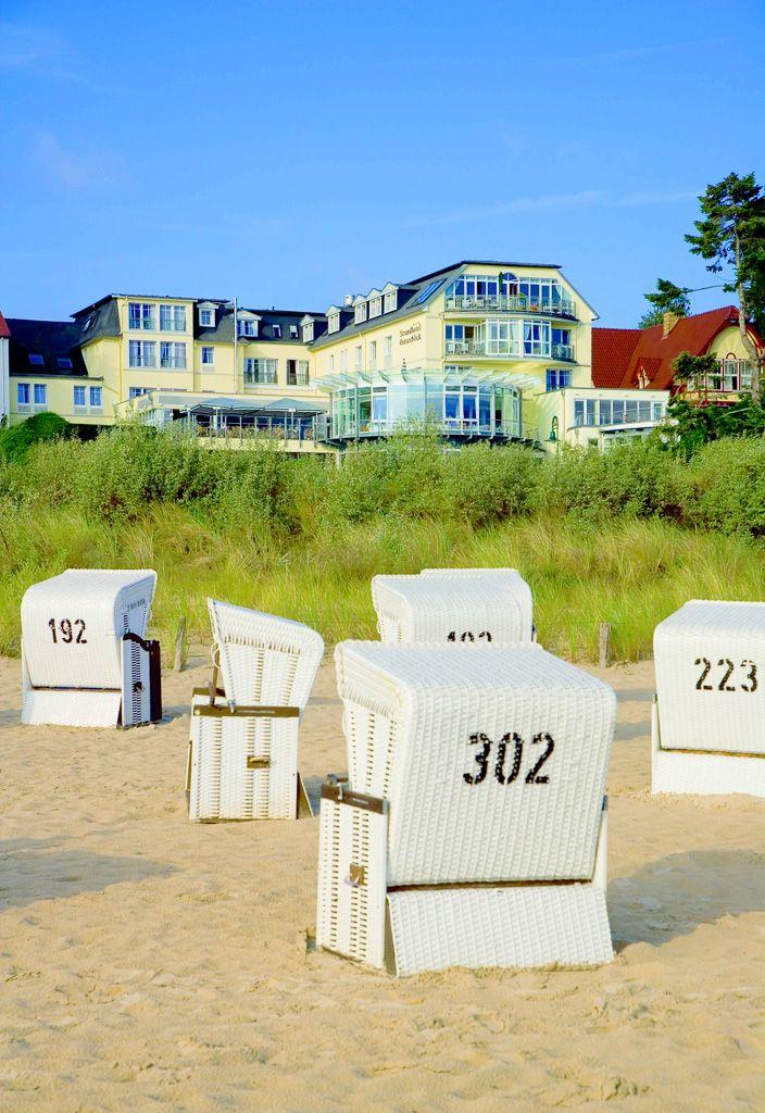 #Wellnesshotel Strandhotel Ostseeblick in Heringsdorf auf der Insel #Usedom
