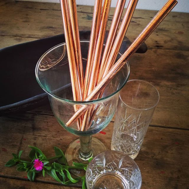 NEW #copper #smoothie straws #ecofriendly #ocean #reusable