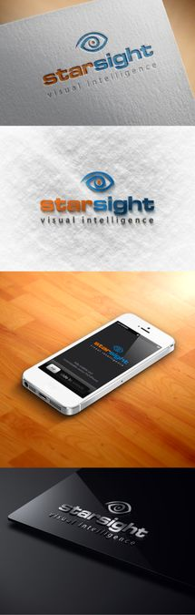 Design a cool techie logo for 3D camera company StarSight by hendrie86