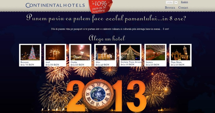 Revelion 2013 - Ocolul pamantului in 8 ore!