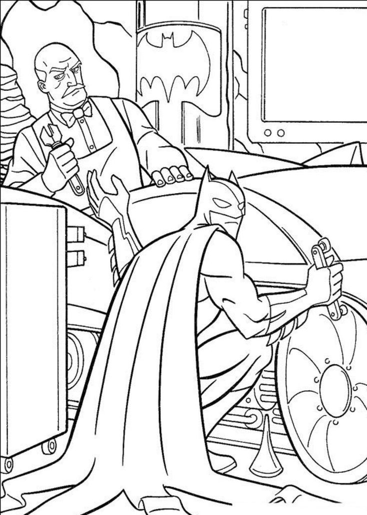 the joker coloring book pages - photo#34