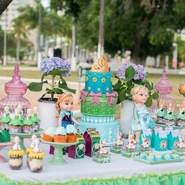 932 best Frozen Party images on Pinterest Birthdays Frozen