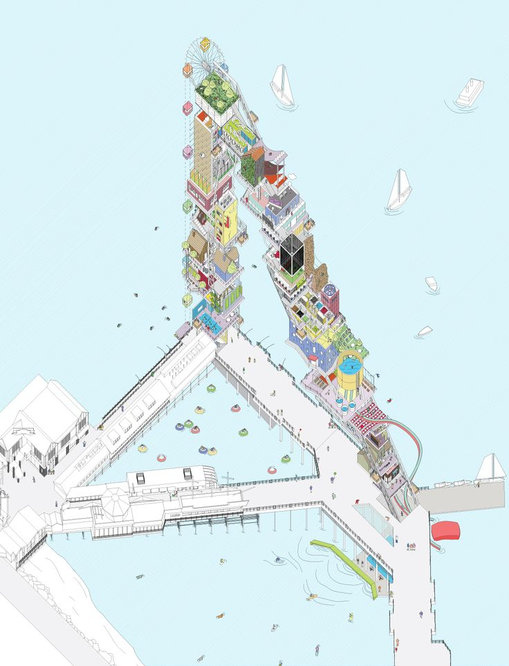 Sunny Lam. M.arch Thesis // Woodbury University_Architecture_march thesis // Pier Pleasure