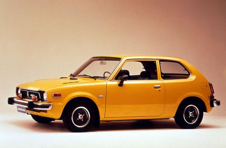 Would love to see this at @OkotoksHonda: 1973 #Honda #Civic