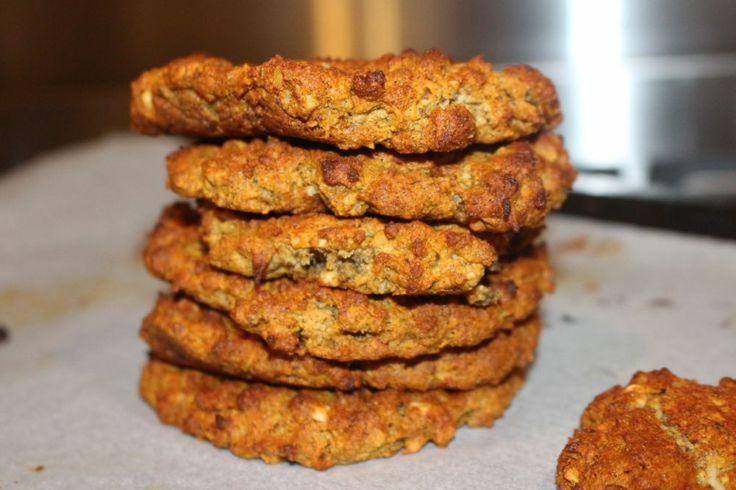 Paleo Anzac Biscuits (Cookies) #RealFoodPledge