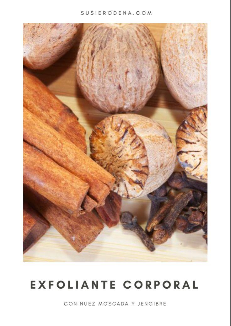 Receta casera Exfoliante corporal con nuez moscada #recetascaseras #exfoliante #corporal #natural Bella, Chibi, Bread, Food, Homemade Spa Treatments, Homemade Body Scrubs, Clogged Pores, Organic Coconut Oil, Smell Good