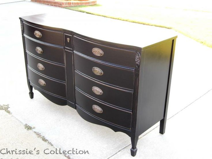 1000 ideas about black distressed furniture on