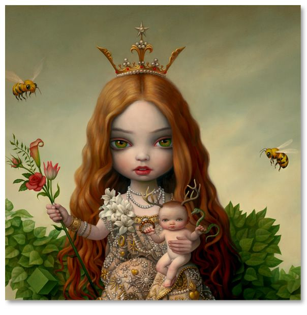 Mark RydenArtists, Trees Of Life, Contemporary Pop, Book, Ryden Art, Markryden, Mark Ryden, Big Eye, Tree Of Life