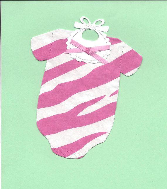 Set of 10  Super Cute Pink Zebra Safari Jungle by SuriesBoutique, $5.00