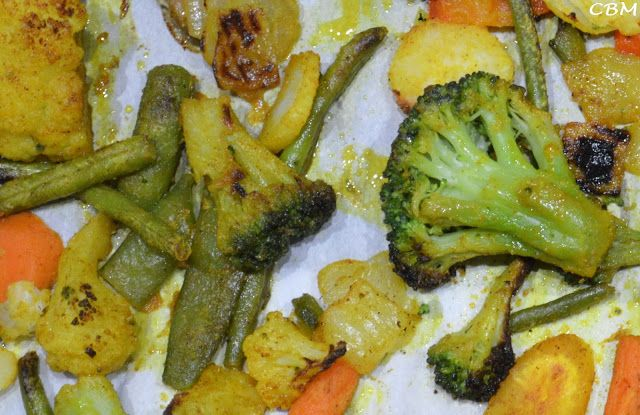 Dans la cuisine de Blanc-manger: Légumes rôtis caramélisés au four