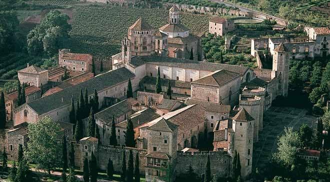 Poblet Monastery, Vimbodí, Province of Tarragona, Autonomous Community of Catalonia, Spain. Inscription in 1991. Criteria: (i)(iv)