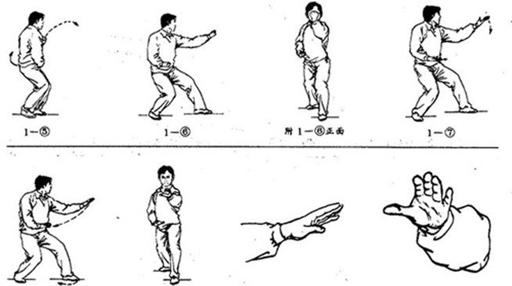 Hsing Yi Quan's splitting fist (pi quan)?