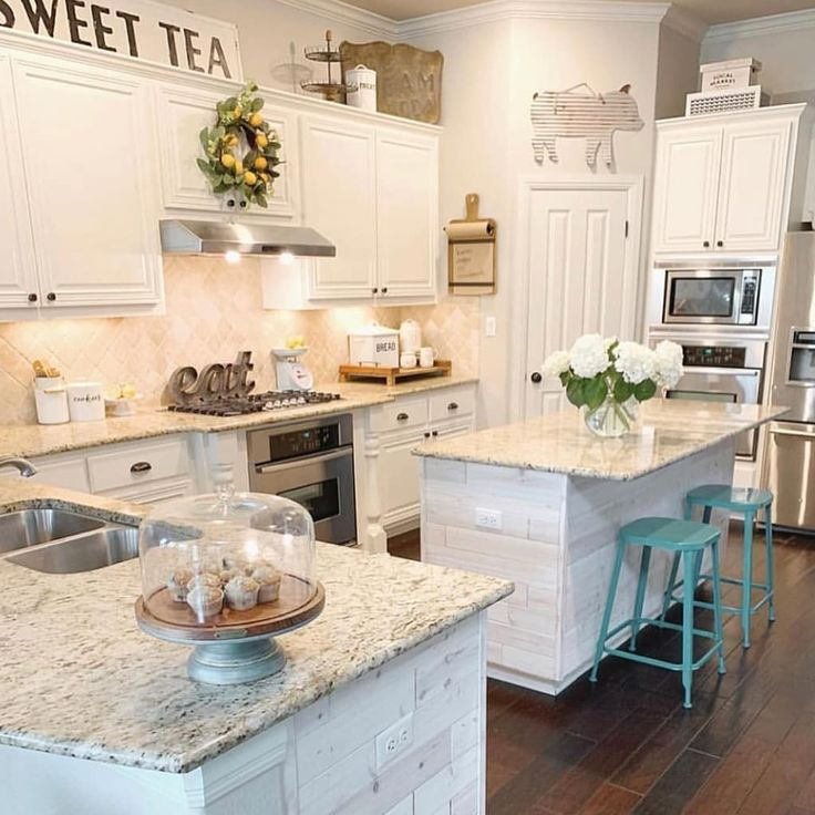 """Farmhouse Stylebook on Instagram """"A favorite kitchen From"""