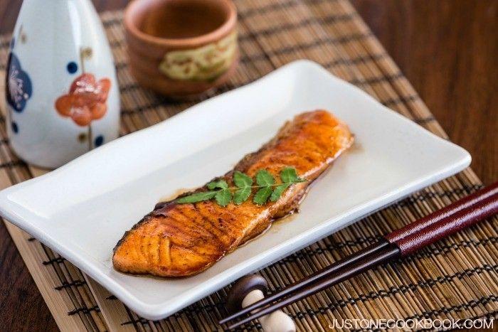 Teriyaki Salmon #recipe   Easy Japanese Recipes at JustOneCookbook.com