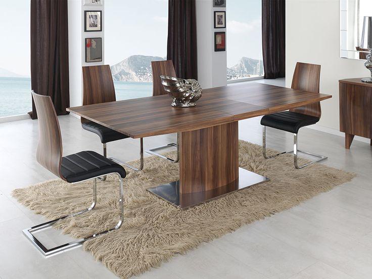 Les Meilleures Idées De La Catégorie Table Rectangulaire Avec - Table 140x140 avec rallonge pour idees de deco de cuisine