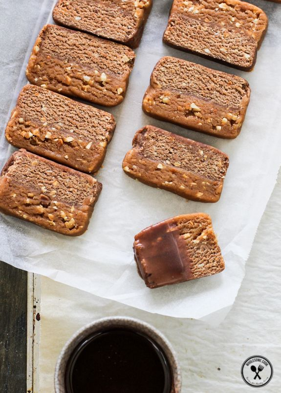 2in1 Homemade Snickers Bars and Cookies   Wholesome Cook