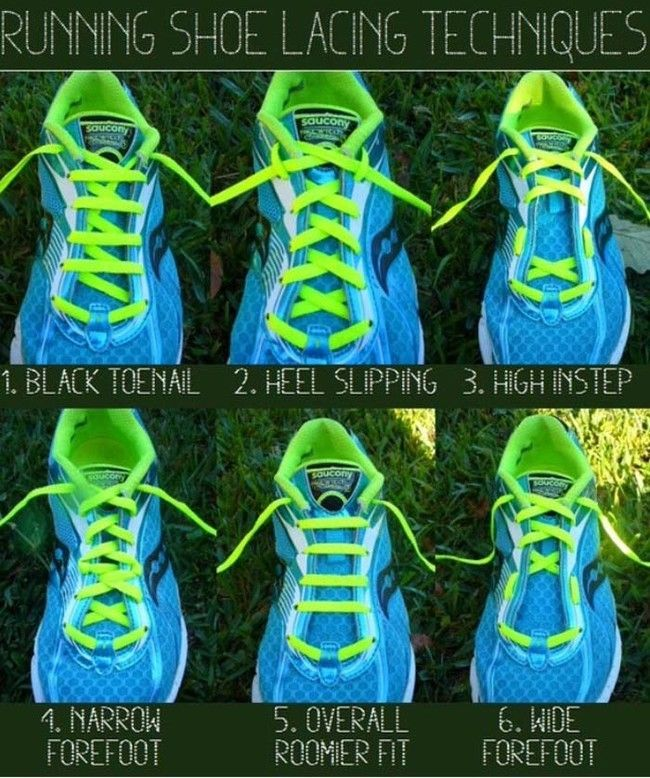 Customize your shoe lacing to fit your unique needs.