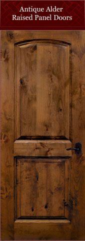 Someday  Interior Barn Doors  Doors Knotty alder doors