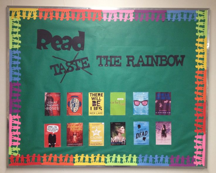 Image result for reading rainbow bulletin board