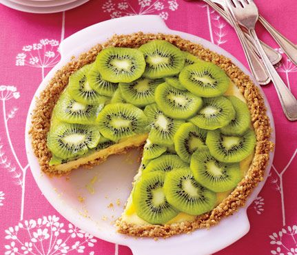 Kiwi Lime PieDon't tell anyone it's only 219 calories a slice or you ...