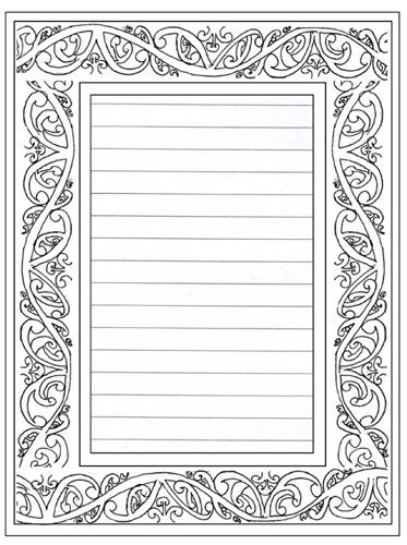 mauri coloring pages - photo#16
