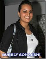 Sonakshi Sinha fat photos during lakme fashion show in black dress