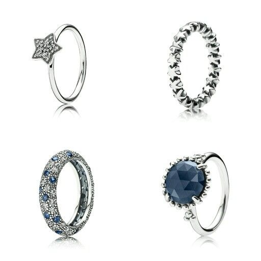 #PANDORA #star #rings