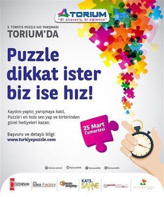 3. Türkiye puzzle hız yarışması