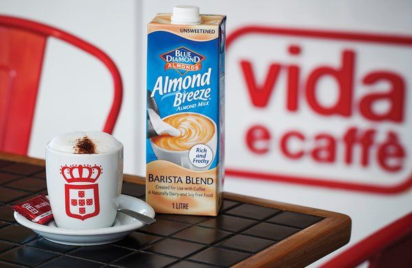 Win a R1000 vida voucher by sending us a photo of your coffee made with @AlmondBreezeSA! Entries close 4th April @vidaecaffe