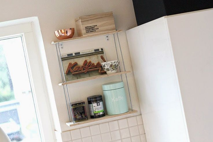 Kitchen string shelf ♥ helt og aldeles: DIY