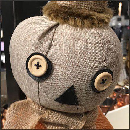 Handcrafted Halloween Pumpkin Head Doll by Nordstrom