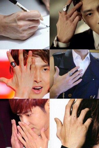 ユノの手   via twwiter