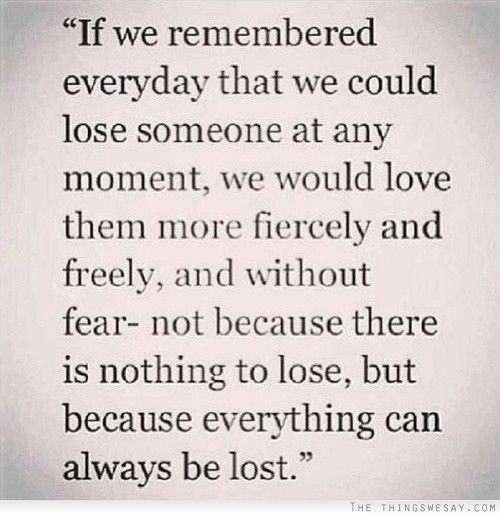Quotes About Being Afraid To Lose Someone: 25+ Best Ideas About Losing Someone On Pinterest