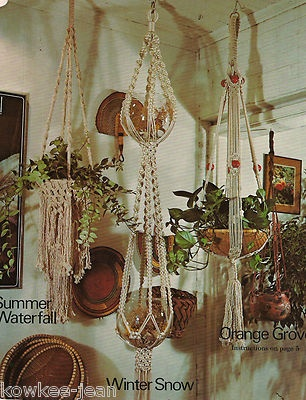 Macrame Boutique: Birdcage, Wall Hanging, Mats, Plant Hangers, Purse ... Patterns!