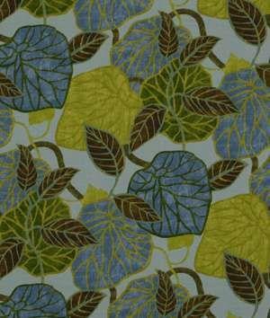 Home Decor Swatch Robert Allen Tropic Scene Hydrangea