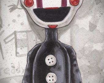 Vijf nachten bij Freddy's marionet Poster afdrukken