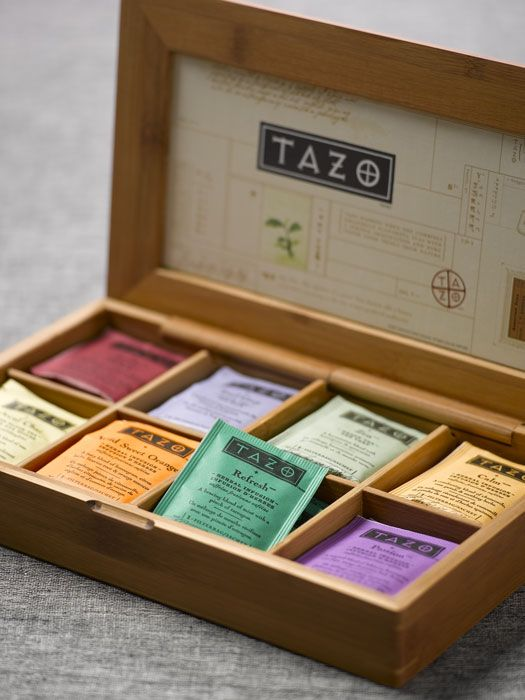 Keep your tea nice and organized. Great corporate gift from GentSupplyCo.com