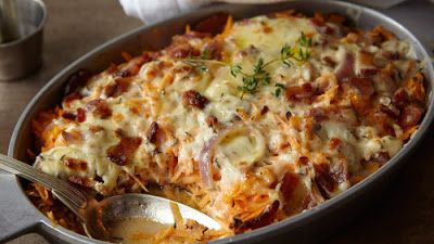 Receptek, és hasznos cikkek oldala: Húsos rakott burgonya – mennyei étel, egyszerű recept!