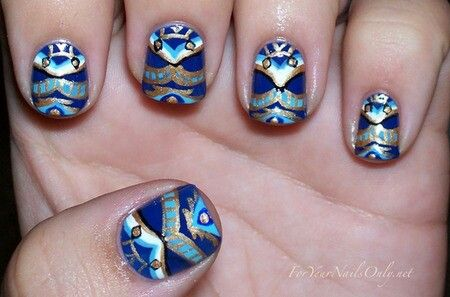 Intricate Nail Artnails Art