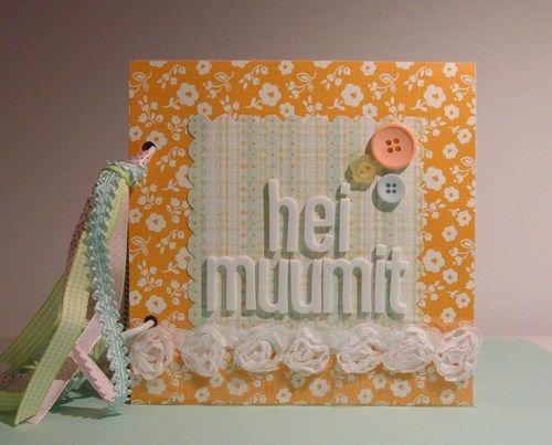 Fiskarettes Design Team - työt : Hei muumit -minialbumi » Fiskarettes FI